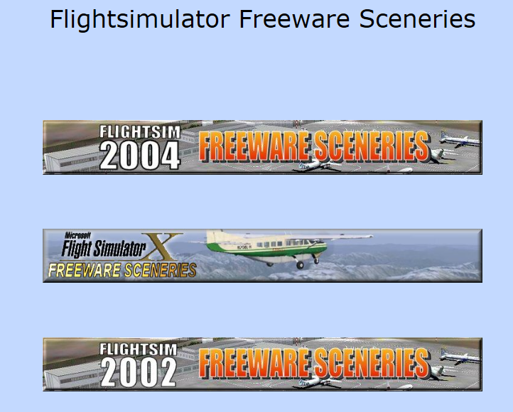 Freeware scenery